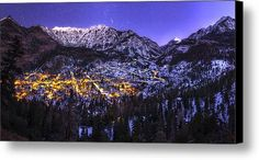 Switzerland Of America Canvas Print / Canvas Art By Taylor Franta