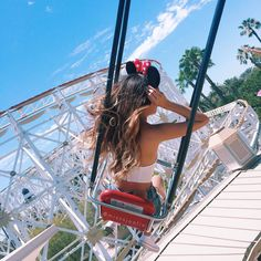 "J U L I E  on Instagram: ""Old pic from Disney ❤️✨ So I tried filming a outfits video last week but I'm not really feelin it  I will still try uploading it? Orr not?  haha idk  + thanks Priscilla for taking this awesome pic with your phone because mine had no more storage  #Disneyland : @priscillax103"""