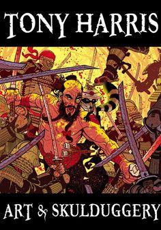paddysbooks too — The Art of Skullduggery - Tony Harris