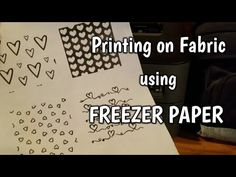 How to Print on Fabric with Freezer Paper – Quilting Digest - Fabric Crafts Quilting Tips, Quilting Tutorials, Machine Quilting, Quilting Projects, Sewing Projects, Crazy Quilting, Hand Quilting, Sewing Ideas, Hunters Star Quilt