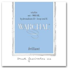 Warchal Brilliant 44 Violin String Set  Loop End E  Hydronalium D  Medium ** Be sure to check out this awesome product.Note:It is affiliate link to Amazon.
