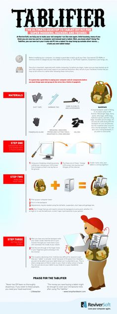 Infographic: Turn Your Old PC Into A Tablet