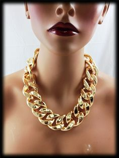 Basketball wives Draya inspired THICK CCB Chain Necklace