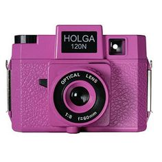 Holga  120N Medium Format Camera Holgawood ''Pretty in Pink''