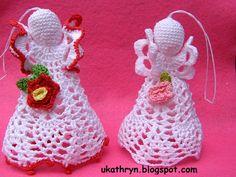 -... The joy of creating: Szydełkowe anioły/ Crochet angels