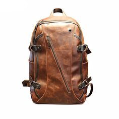 Leather Backpack for Boys On Sale