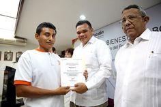 """Continúan beneficios del programa """"Capacitar"""" a favor de trabajadores yucatecos"""