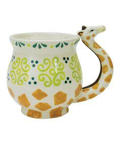 Look at this Giraffe Mug on #zulily today!