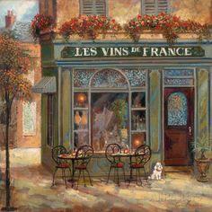 Wine Shop Láminas por Ruane Manning en AllPosters.es