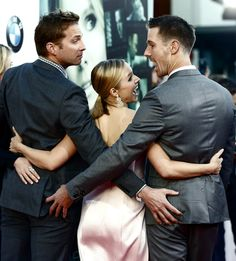THIS IS THE GREATEST PHOTO OF ALL TIME. AND YES IT HAS TO BE IN CAPSLOCK. Ryan Hansen, Kristen Bell, Jason Dohring