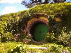 Haustür von Bilbo Beutlin