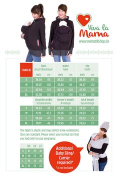 Viva la Mama | Baby Carrying Jacket CHARLIE (3in1- gray mottled/striped). Hoody for pregnancy, maternity, baby wearing and everyday use. No worries about the blanket not covering toes or fingers! :) #vivalamama #maternityfashing #babycarrying #babywearing #nursingwear