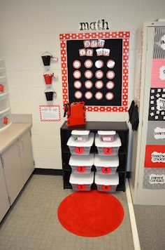 Guided Math Tubs for 5th grade