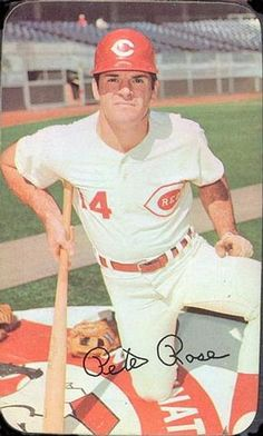 1971 Topps Super #20 Pete Rose Front