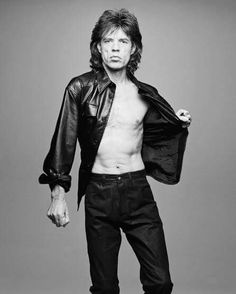 Mick Jagger, oh-so-stunning at 50