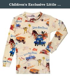 Children's Exclusive Little Blue Truck Pajama Set - Officially Licensed - 4T. Beep! Beep! A muddy country road is no match for Blue, the little pick-up truck, until he gets stuck pushing a dump truck out of the muck. Luckily, he has a lot of farm animal friends. With over 1 million in print, Alice Schertle's story, illustrated by Jill McElmurry, is a joyful cacophony of animal and truck sounds. Two-piece printed jammies (Honk! Beep! Beep!) are 100% cotton. Children's sizes 2T, 3T, 4T, 5…
