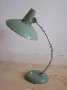 Kaiser Idell Desk lamp by VintageLightings on Etsy, Desk Lamp, Table Lamps, Mid-century Modern, 1950s, Mid Century, House Design, Lighting, Planning Board, Fritz Hansen