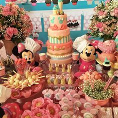 Festa Patisserie da Minnie