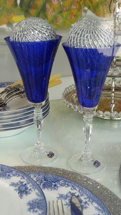 7  Mesa de Natal azul Roberto Simões, no blog Detalhes Magicos