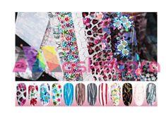 Patterns Themed Transfer Foil Case Each foil design is approximately 1 meter in length. For optimal results - use in conjunction with Maskscara's Gel-iT Foil Gel! Transfer Foil, Floral Tie, Nail Art, Patterns, Design, Block Prints, Nail Arts, Nail Art Designs