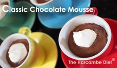 The Harcombe Diet® by Zoe Harcombe | Classic Chocolate Mousse