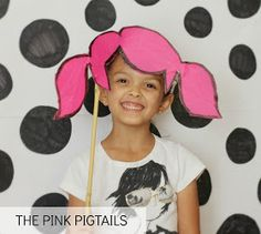 Salsa Pie: Family Photobooth: Punky Pink