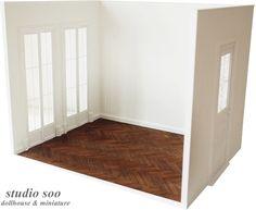 Studio Soo miniatures // 1/6 scale roombox