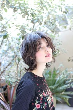 Asian Short Hair, Girl Short Hair, Long Curly Hair, Ulzzang Short Hair, Cut My Hair, Hair Cuts, Hair Inspo, Hair Inspiration, Short Grunge Hair