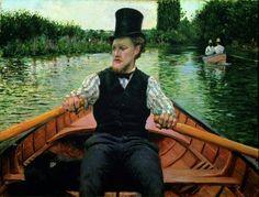 """Gustave Caillebotte  """"La Partie de Bateau""""  1877/78"""