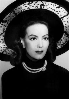 """Maria Felix - inspired the Cartier """"La Doña of Cartier"""" collection."""