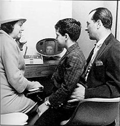 1964 World's Fair - Bell Systems - seeing the person you were talking to seemed so unreal at the time.  Who knew:)