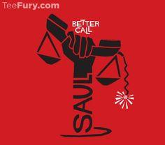 Saul on Saul T-Shirt $11 Better Call Saul tee at TeeFury today only!