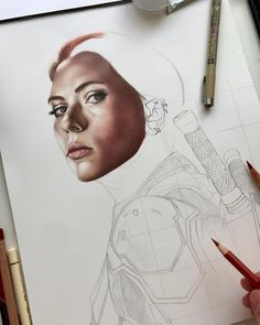 Criticize this!😬 • • •  #art #artdiscover #dailyart #artsy #arts_promote #instaart #originalart #artistic_support #art_dailydose #realismart #artwork #artsanity #workinprogress #artistoninstagram #artspotlight #artfollowers #traditionalart #blackwidow #marvel #avengers #mcu #natasharomanoff #scarlettjohansson #coloredpencil #coloredpencils #carandache #fabercastellpolychromos #marvelcomics #marvelstudios #iuliancart Marvel Avengers, Marvel Comics, Faber Castell Polychromos, Caran D'ache, Natasha Romanoff, Realism Art, Black Widow, Traditional Art, Insta Art