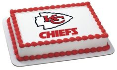 Kansas City Chiefs Cake