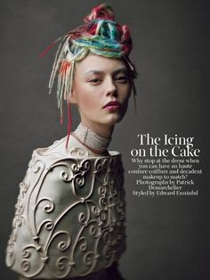 The Icing on the Cake by Patrick Demarchelier for W May 2013