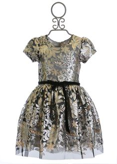 a9fc0bff4 15 Best Silver and Gold Girls  Holiday Dresses images