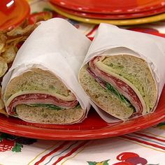 Mario Batali Italian Sub on The Chew