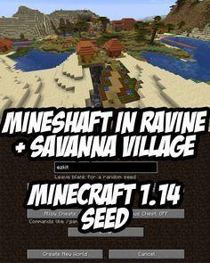 Minecraft 1 14 Abandoned Mineshaft Seed Ezkit 97016321
