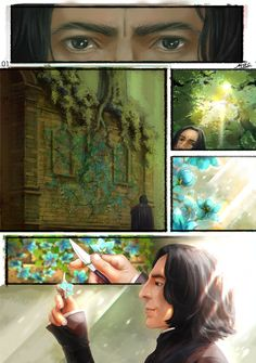 """severus-snape-my-eternal-prince: """" snape Potions log by mujie2012 This is stunning!!! ♥ ♥ ♥ """""""