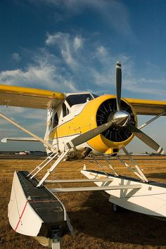 DeHavilland Beautiful Beaver by tnano, via Flickr #floatplane #seaplane