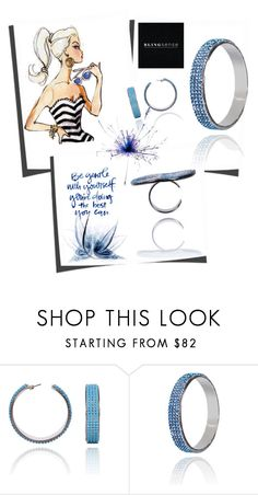 """""""Blingsense"""" by jelena-topic5 ❤ liked on Polyvore featuring jewelry and blingsense"""