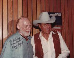 Harry Carey Jr. and Ben Johnson - 1983