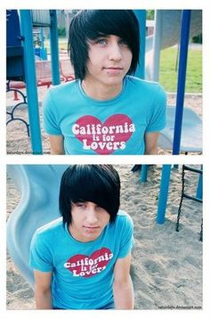 Alex Evans Emo Hair | Cool Men's Hairstyles Pictures & Styling Tips