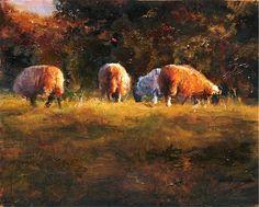 Scott Mattlin (oil on panel)