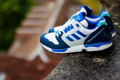 ADIDAS ZX 8000 (ROYAL/NAVY)   Sneaker Freaker
