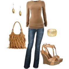 brown, created by lisamichele-cdxci on Polyvore