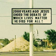 """Not a supporter of the #alllivesmatter movement (although they do), but I do like this sign. """"Red and yellow, black and white, all are precious in his sight!"""" #Bible #yeshuahamasiach #Christian #yeshua #Jesus #God #Yahweh #JesusLovesYou #JesusSaves #messiah #messianic #VerseOfTheDay #BibleVerseOfTheDay #YHWH #blogger #tikkunolam #christianblogger #feminism #blessed #YHVH #feminist #jesusfeminist #lgbt #saviour #womanist #womanism #scripture#vegan #science"""