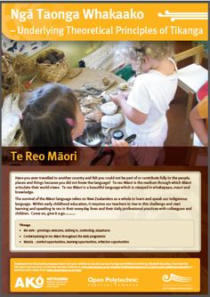 Bi-cultural Early Childhood Education Posters – full set - Ako Aotearoa