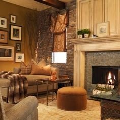 Traditional Family Room Rock Landscape Design, Pictures, Remodel, Decor and Ideas - page 2