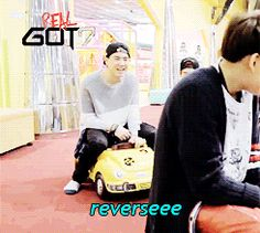 LOL !!! Funny moment in REal GOT7 which was the last episode :D
